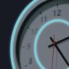 background clock