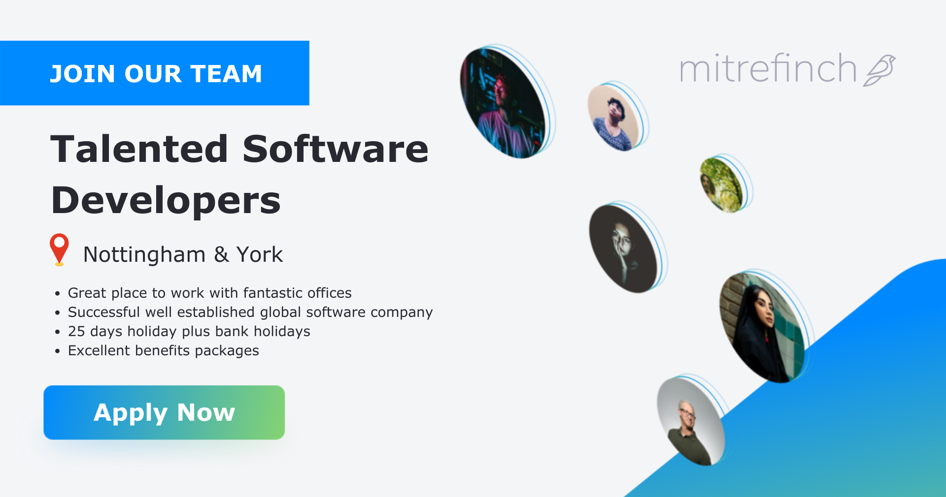 Apply Now: Talented Software Developers   Mitrefinch UK